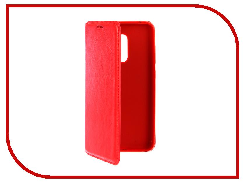 Аксессуар Чехол-книжка для Xiaomi Redmi Pocophone F1/M1 Gurdini Red 906721 стоимость