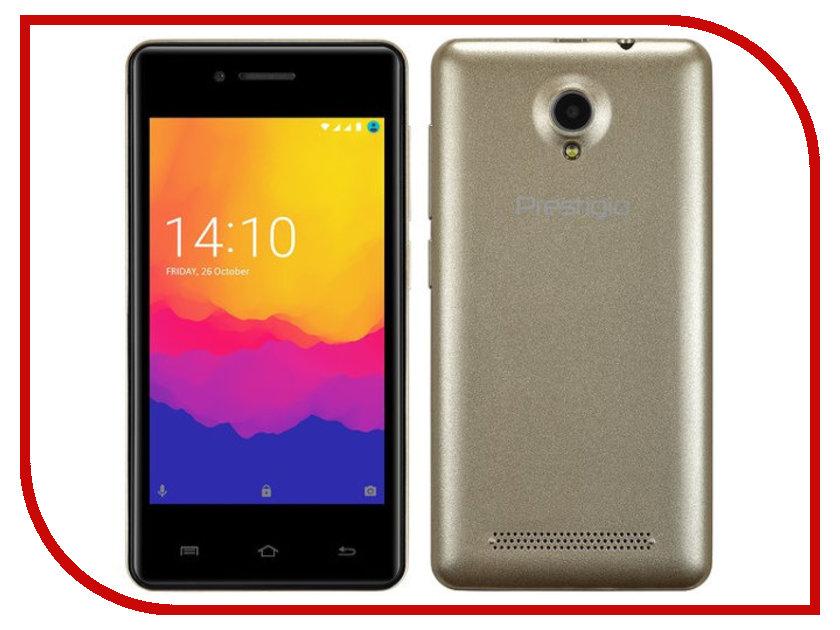 Сотовый телефон Prestigio Wize Y3 Gold PSP3406DUOGOLD сотовый телефон prestigio wize g3 wine psp3510duowine