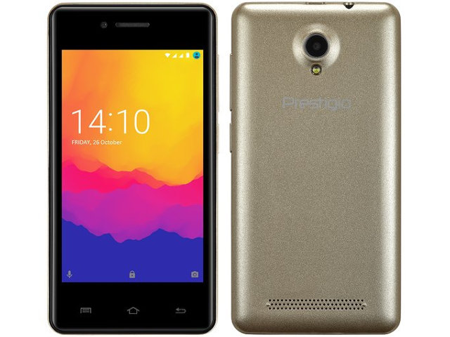 Сотовый телефон Prestigio Wize Y3 Gold PSP3406DUOGOLD цена 2017
