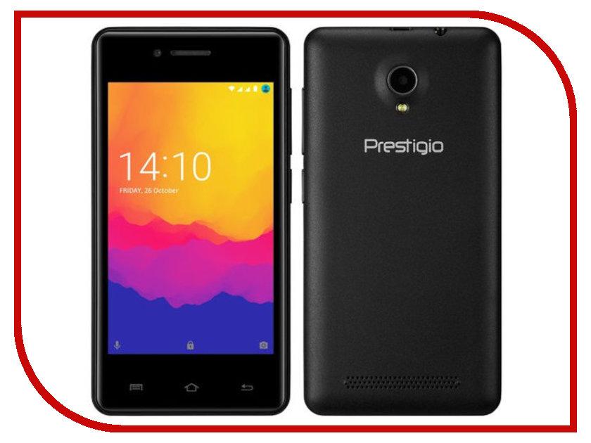 Сотовый телефон Prestigio Wize Y3 Black PSP3406DUOBLACK сотовый телефон prestigio wize g3 wine psp3510duowine