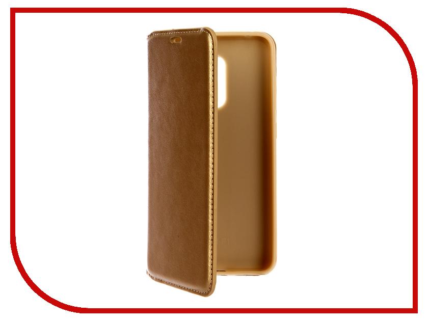 Аксессуар Чехол-книжка для Xiaomi Redmi Pocophone F1/M1 Gurdini Champagne 906717 аксессуар чехол для xiaomi redmi 4x gurdini premium silicone champagne