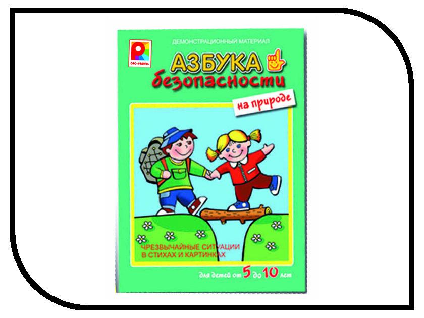 Настольная игра Радуга Азбука Безопасности на природе С-839 настольная игра обучающая радуга азбука безопасности на улице во дворе