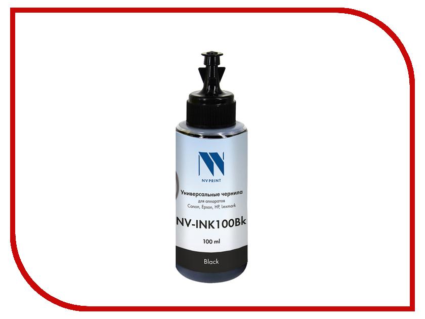 Чернила NV Print NV-INK100 универсальные Black 100ml для Сanon / Epson / НР / Lexmark стремянка новая высота nv 322 2x9