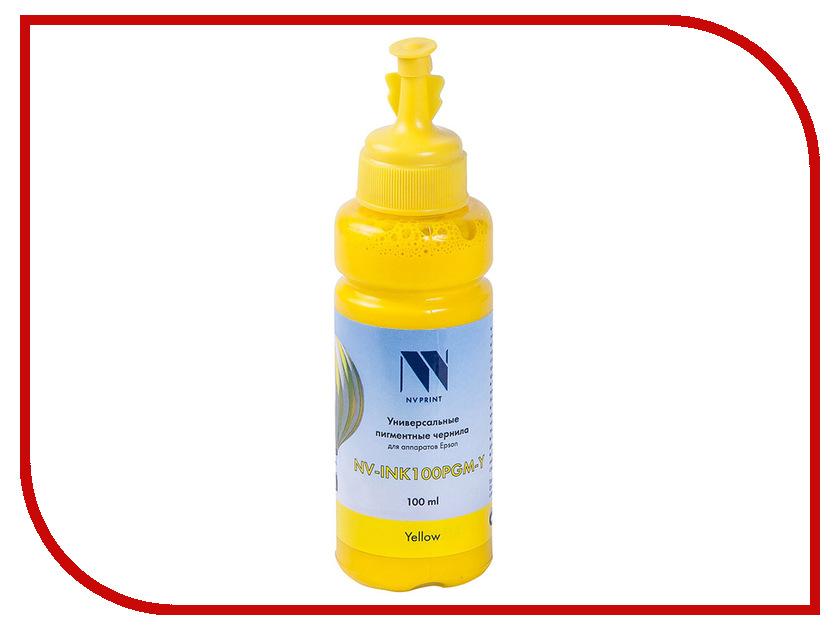 Чернила NV Print NV-INK100 универсальные Yellow 100ml для Epson / Lexmark / Canon / HP стремянка новая высота nv 322 2x9
