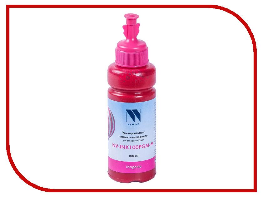 Чернила NV Print NV-INK100 универсальные Magenta 100ml для Сanon / Epson / НР / Lexmark стремянка новая высота nv 322 2x9