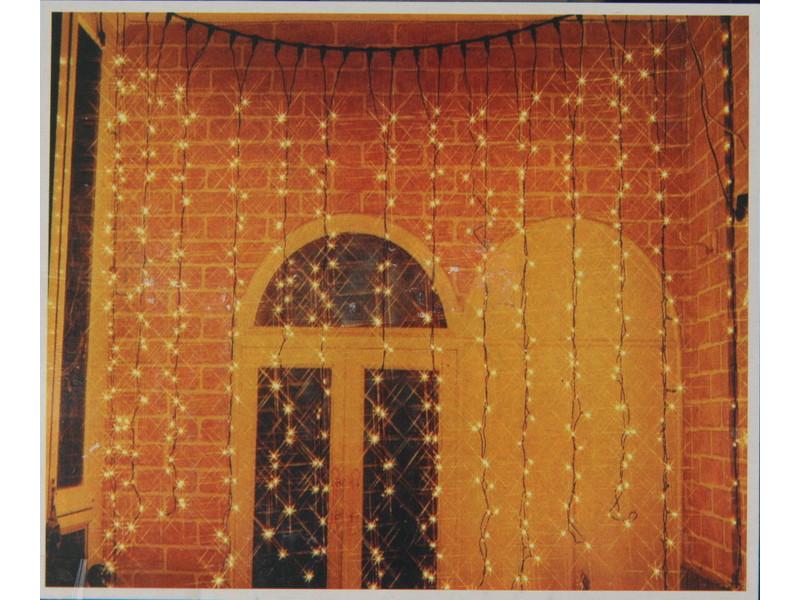 Гирлянда SnowHouse Занавес 1875 LED Transparent CLRV1875-E