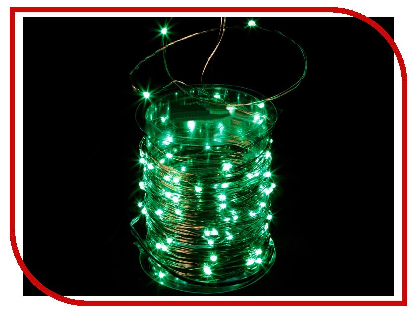 Гирлянда SnowHouse 100 LED Green LDM100-G-C электрогирлянда большие разноцветные мультишарики 100 led ламп snowhouse