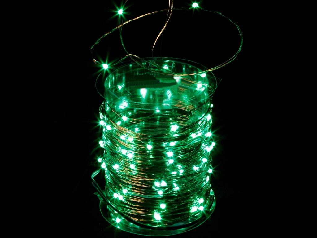 Гирлянда SnowHouse 100 LED Green LDM100-G-C