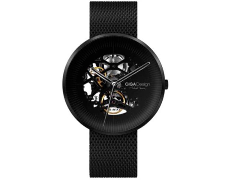 Часы наручные аналоговые Xiaomi CIGA Design Mechanical Watch Jia MY Series Black