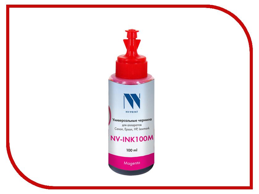 Чернила NV Print NV-INK100 универсальные на водной основе Magenta 100ml для Сanon / Epson / НР / Lexmark холодильник beko rcsk 379m21 s
