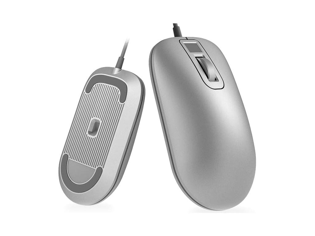 Мышь Xiaomi Jesis Smart Fingerprint Mouse Silver free shipping biometric fingerprint time clock tcp ip fingerprint access control system xm28 with rfid and mf reader