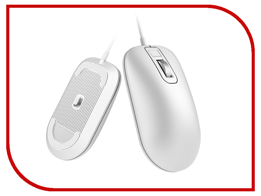 Мышь Xiaomi Jesis Smart Fingerprint Mouse White genuine english russian c120 air mouse rechargeable fly mouse keyboard for smart tv box computer mini pc