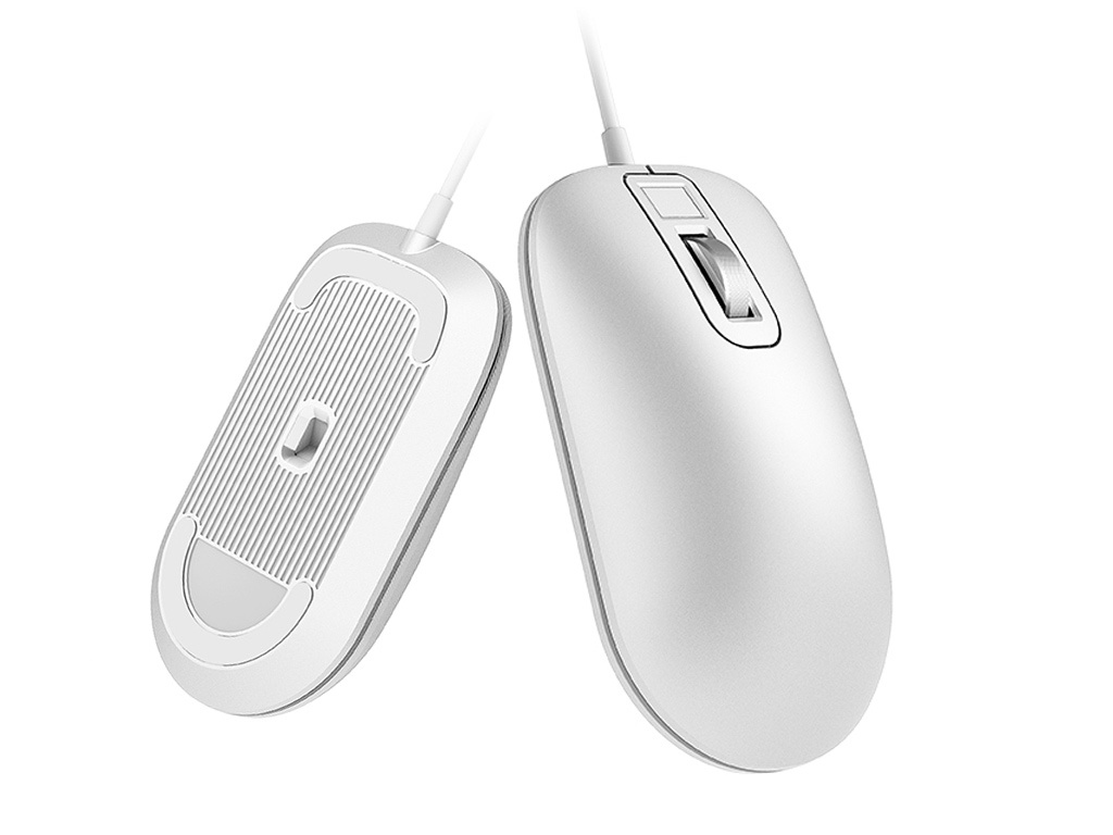 Мышь Xiaomi Jesis Smart Fingerprint Mouse White аксессуар чехол для samsung galaxy j2 prime g532 red line gold ут000010220