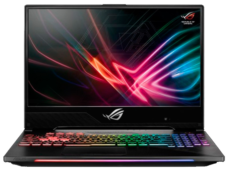Ноутбук ASUS ROG GL704GM-EV055 Black 90NR00N1-M01110 (Intel Core i5-8300H 2.3 GHz/16384Mb/1000Gb+256Gb SSD/nVidia GeForce GTX 1060 6144Mb/Wi-Fi/Bluetooth/Cam/17.3/1920x1080/DOS)