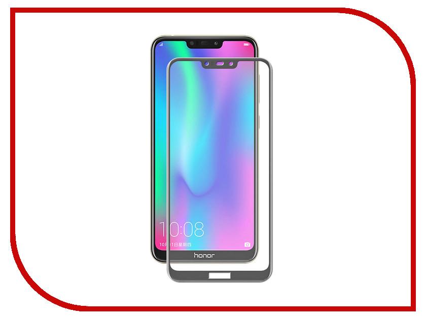 Аксессуар Защитное стекло для Huawei Honor 8С Gecko 2D FullScreen Black ZS26-GHH8С-2D-BL аксессуар защитное стекло samsung galaxy a5 2017 a520f gecko 2d 0 26mm black zs26 gsga5 2017 2d bl
