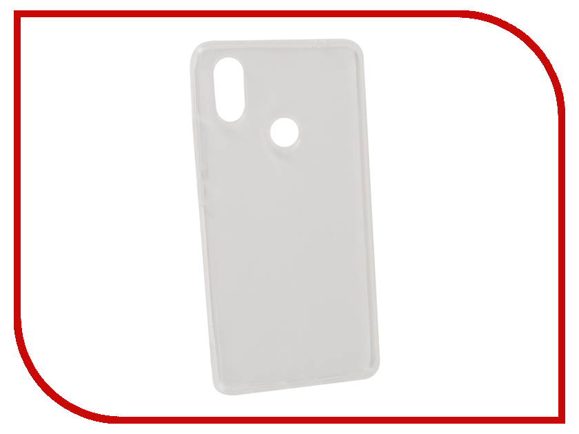Аксессуар Чехол для Xiaomi Mi8 SE Gecko White S-G-XIMI8SE-WH аксессуар чехол gecko для apple iphone 6 transparent white s g ip6 1 wh