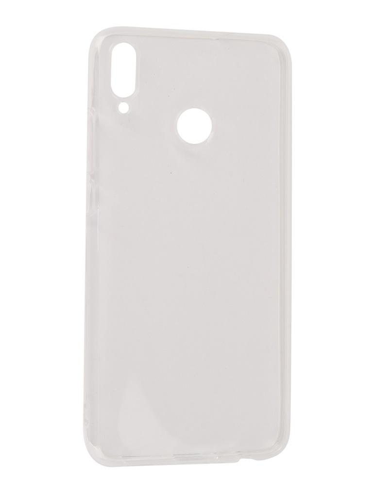 Аксессуар Чехол Gecko для Honor 8X Transparent-White S-G-HUAH8X-WH аксессуар чехол для xiaomi redmi 6 pro gecko transparent white s g xir6pro wh