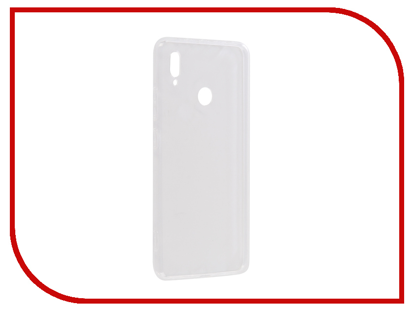 Аксессуар Чехол для Huawei Honor Note 10 Gecko Transparent-White S-G-HUAHNOTE10-WH аксессуар чехол для huawei honor nova gecko silicone glowing white s g sv huawnova wh