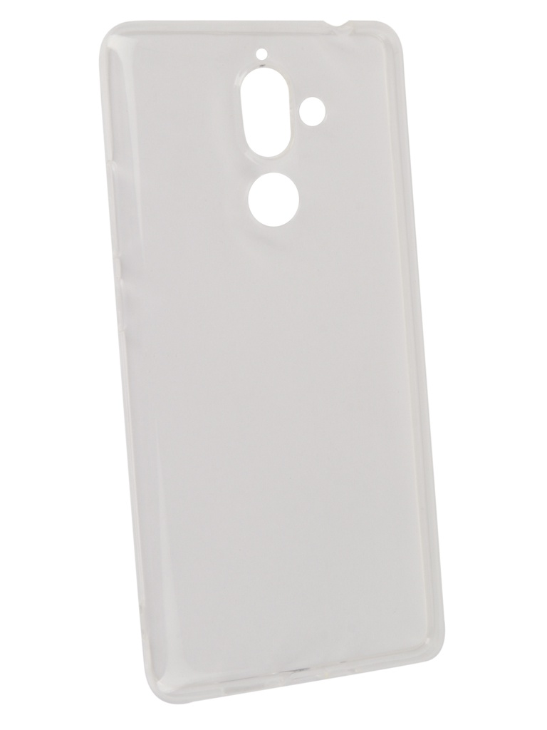 Аксессуар Чехол Gecko для Nokia 7 Plus Transparent-White S-G-NOK7Plus-WH