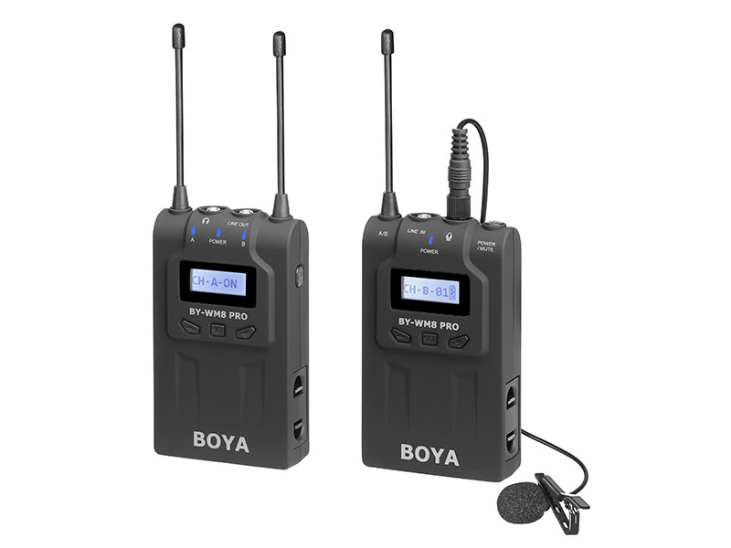 Микрофон Boya BY-WM8 Pro-K1 1563