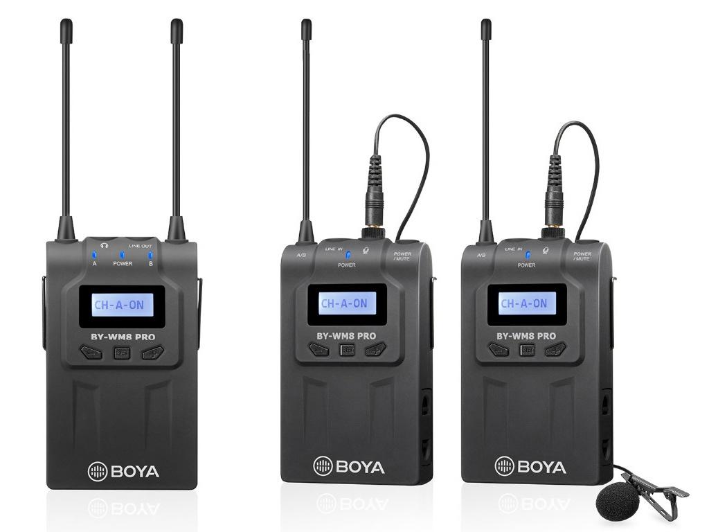 Микрофон Boya BY-WM8 Pro-K2 1564