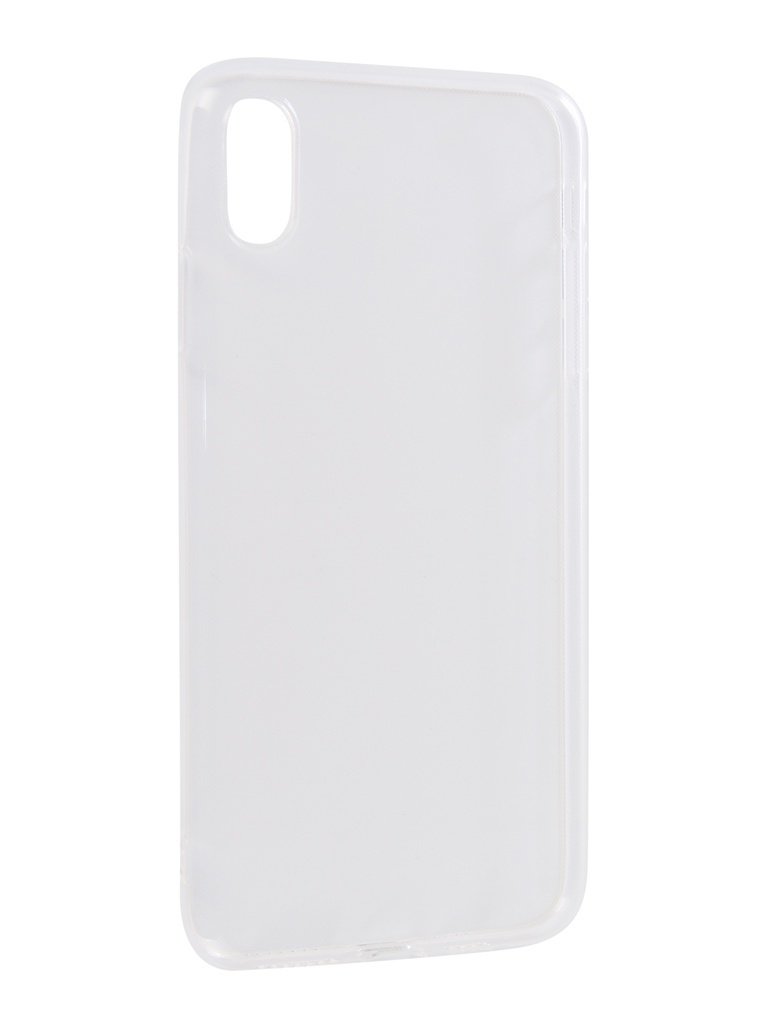 Аксессуар Чехол Innovation для APPLE iPhone XS Max Transparent 13119 аксессуар чехол innovation для apple iphone xs max matte black 13319