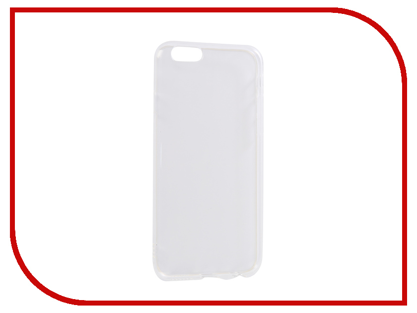 Аксессуар Чехол для APPLE iPhone 6 Innovation Transparent 13112 аксессуар чехол для apple iphone 6 innovation silicone transparent 12216