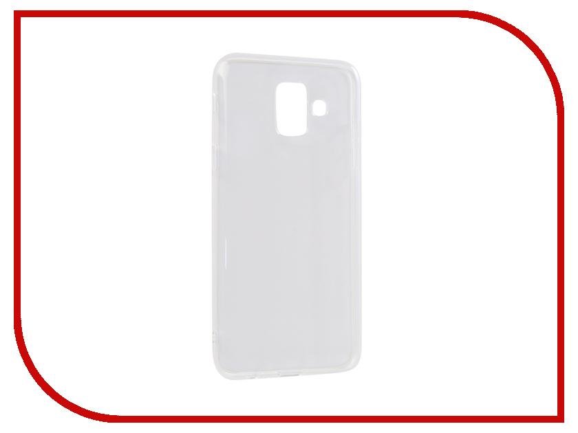 Аксессуар Чехол для Samsung Galaxy A6 2018 Innovation Transparent 13157 аксессуар чехол накладка для samsung galaxy j3 2016 innovation silicone 0 33mm transparent 12033