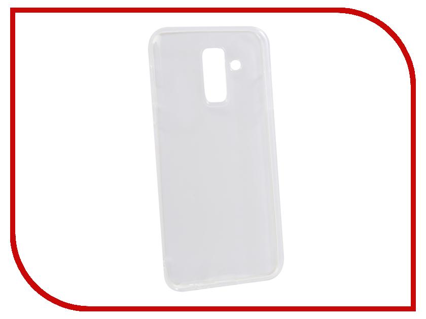 Аксессуар Чехол для Samsung Galaxy A6 Plus 2018 Innovation Transparent 13158 аксессуар чехол samsung j3 2017 j330f zibelino clear view black zcv sam j330 blk