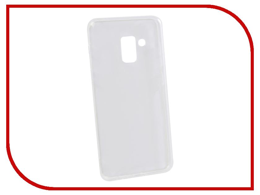 Аксессуар Чехол для Samsung Galaxy A8 2018 Innovation Transparent 13155 аксессуар чехол накладка для samsung galaxy j3 2016 innovation silicone 0 33mm transparent 12033