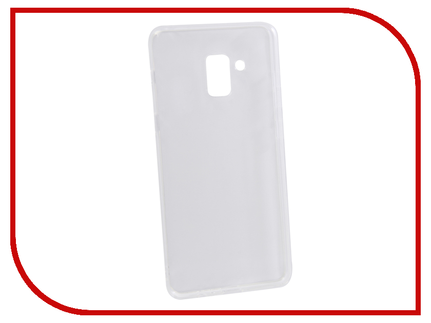 Аксессуар Чехол для Samsung Galaxy A8 Plus 2018 Innovation Transparent 13156 аксессуар чехол для samsung galaxy a8 plus 2018 innovation book gold 11973