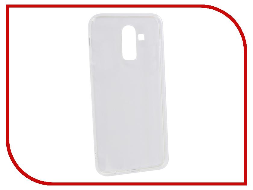 Аксессуар Чехол для Samsung Galaxy J8 2018 Innovation Transparent 13164 аксессуар противоударное стекло для samsung galaxy j8 2018 innovation 2d full glue cover gold 12814