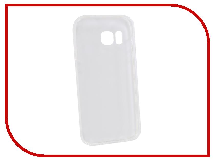 Аксессуар Чехол для Samsung Galaxy S7 Innovation Transparent 13169 аксессуар защитная плёнка для samsung galaxy s7 monsterskin super impact proof 360