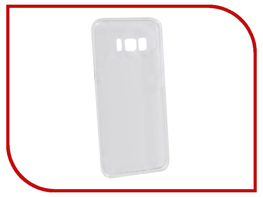 Аксессуар Чехол для Samsung Galaxy S8 Innovation Transparent 13170 аксессуар чехол samsung galaxy s8 celly air case black air690bkcp