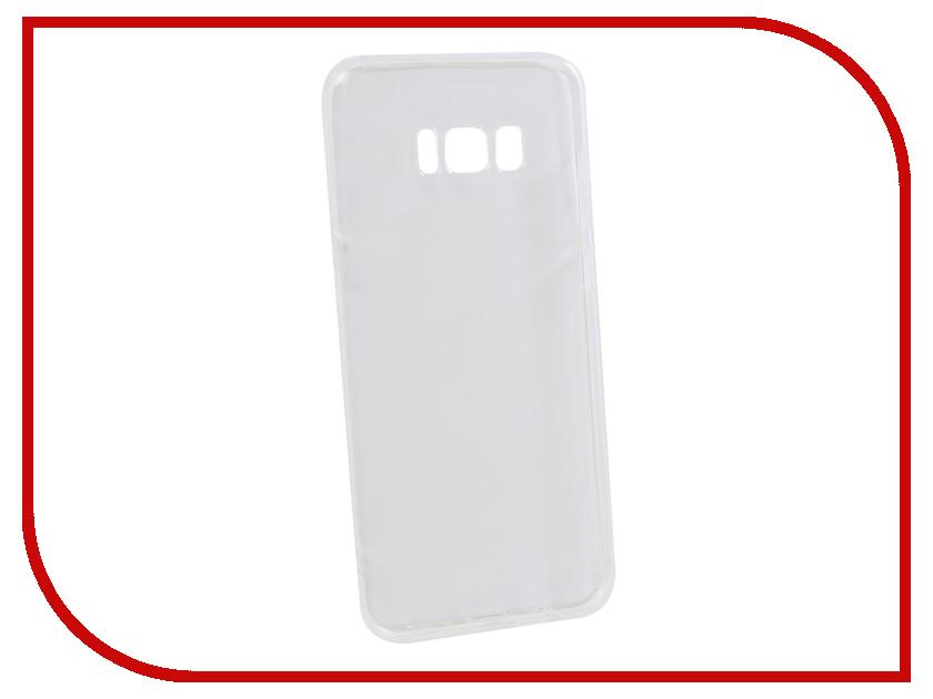 Аксессуар Чехол для Samsung Galaxy S8 Plus Innovation Transparent 13171 аксессуар чехол для samsung galaxy s8 plus innovation silicone blue 10692