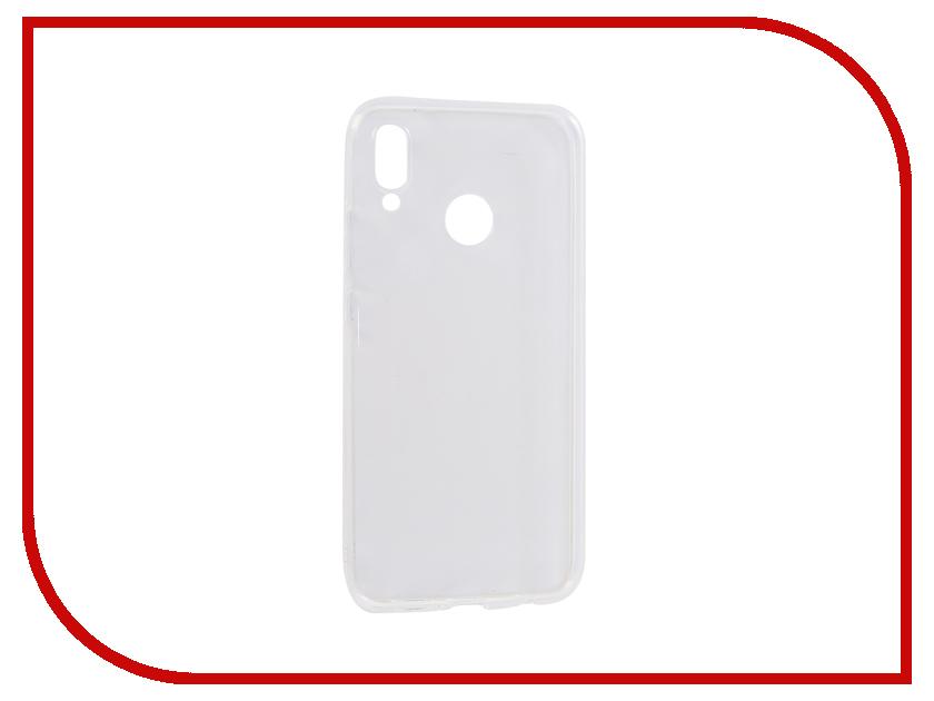 Аксессуар Чехол для Huawei P20 Lite Innovation Transparent 13120 аксессуар чехол для huawei p smart 7s innovation silicone pink 12840