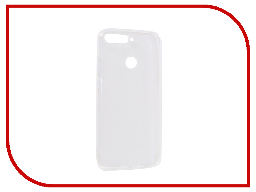 Аксессуар Чехол для Huawei Y6 Prime 2018 Innovation Transparent 13124 аксессуар чехол книга для huawei 7а pro y6 prime innovation book silicone red 12412