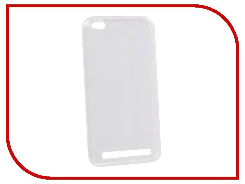 Аксессуар Чехол для Xiaomi Redmi 5A Innovation Transparent 13153 аксессуар чехол для xiaomi redmi 5a innovation transparent 13153