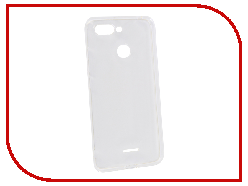 Аксессуар Чехол для Xiaomi Redmi 6 Innovation Transparent 13149 аксессуар чехол для xiaomi redmi 5a innovation transparent 13153