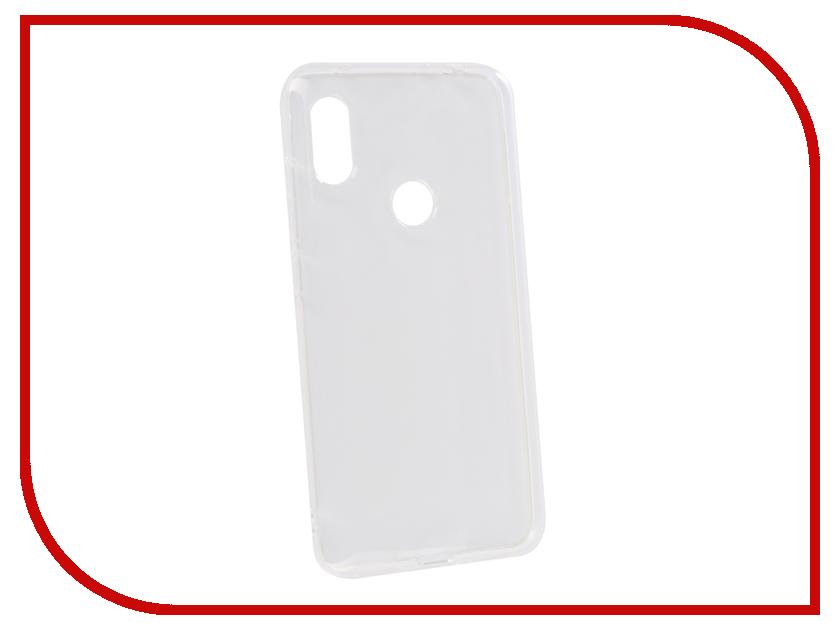 Аксессуар Чехол для Xiaomi Redmi Note 6 Pro Innovation Transparent 13151 смартфон xiaomi note 6 pro 32 gb черный