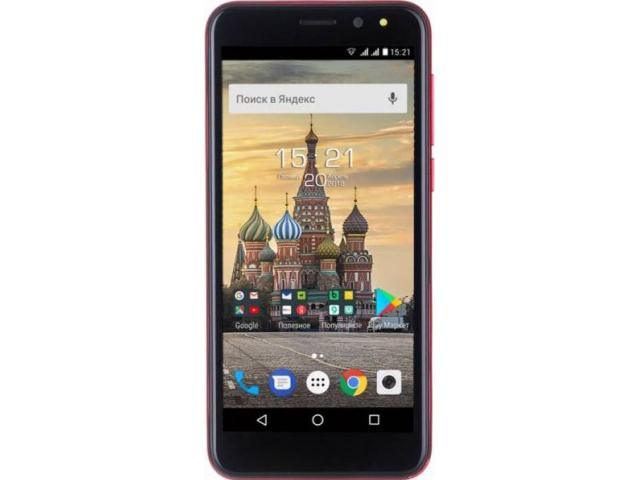 Сотовый телефон Fly Life Compact 4G Red цена