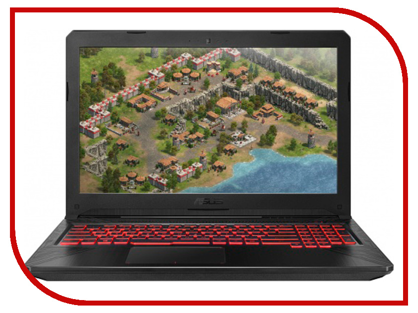 Купить Ноутбук ASUS ROG FX504GD-E41087 Metal 90NR00J3-M19200 (Intel Core i5-8300H 2.3 GHz/12288Mb/1000Gb/nVidia GeForce GTX 1050 4096Mb/Wi-Fi/Bluetooth/Cam/15.6/1920x1080/DOS)