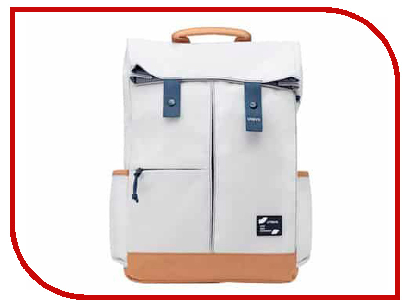 Фото - Рюкзак Xiaomi Urevo Youqi Energy College Leisure Backpack White just star famous brand women s leather backpack female cartoon robot beading double shoulder bags ladies leisure travel rucksack