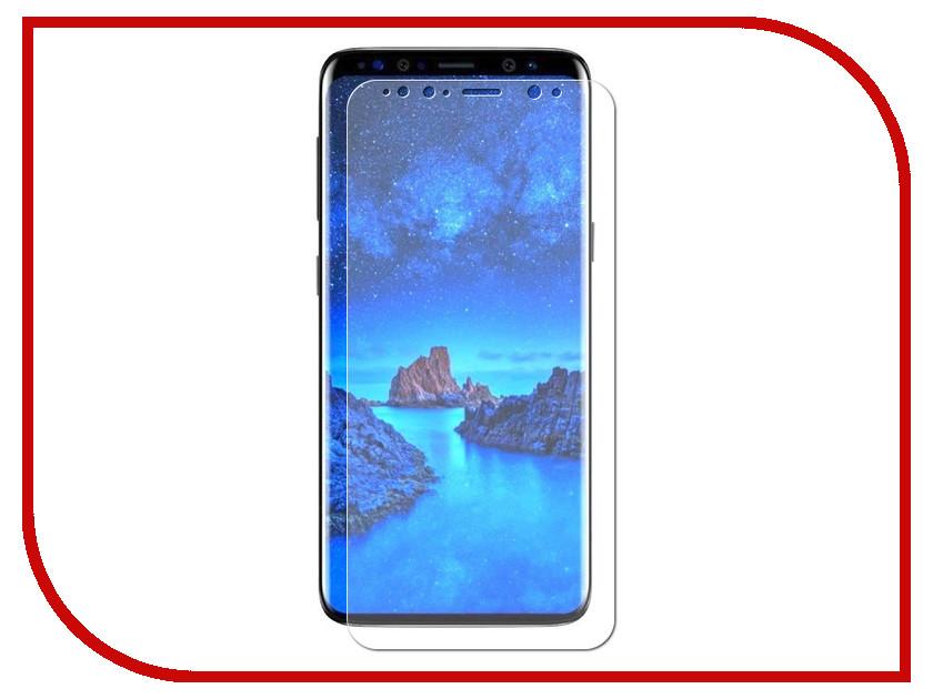 Аксессуар Защитное стекло для Samsung Galaxy S9 Krutoff Full Glue Black 02822 аксессуар противоударное стекло для samsung galaxy j8 2018 innovation 2d full glue cover gold 12814