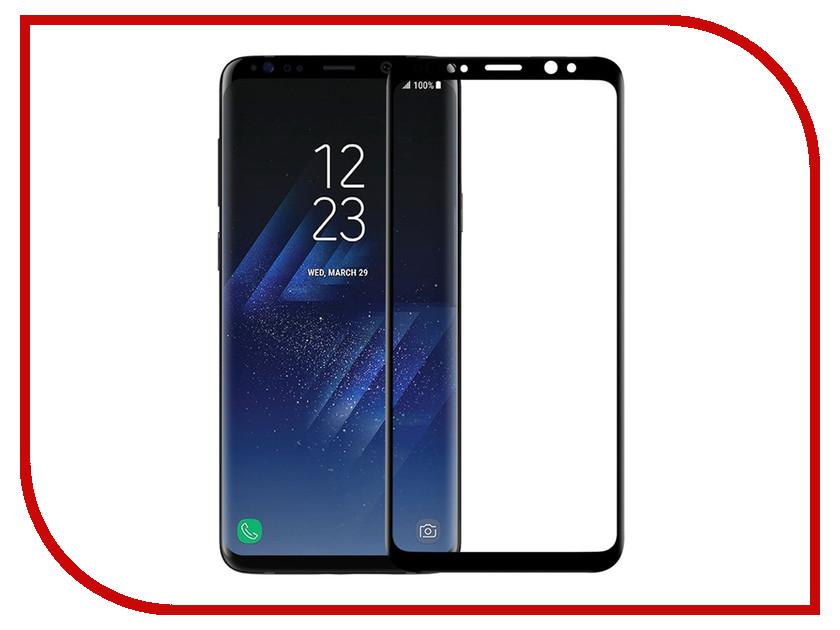 Аксессуар Защитное стекло для Samsung Galaxy S9 Plus Krutoff Full Glue Black 02823 аксессуар противоударное стекло для samsung galaxy j8 2018 innovation 2d full glue cover gold 12814