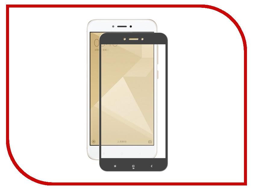 Аксессуар Защитное стекло для Xiaomi Redmi 4X Krutoff Full Glue Black 02850 аксессуар защитное стекло для xiaomi redmi 4x krutoff full glue black 02850