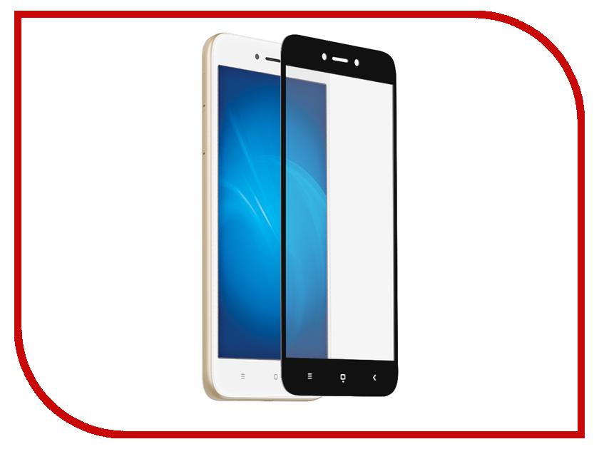 Аксессуар Защитное стекло для Xiaomi Redmi 5A Krutoff Full Glue Black 02854 аксессуар защитное стекло для apple iphone 7 8 krutoff full glue black 02695