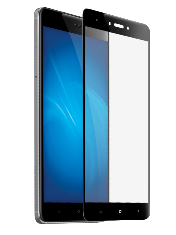 Аксессуар Защитное стекло Krutoff для Xiaomi Redmi Note 4X Full Glue Black 02859 аксессуар защитное стекло xiaomi redmi note 4 krutoff group 0 26mm 20392