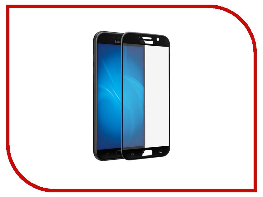Аксессуар Защитное стекло для Samsung Galaxy A7 2017 SM-A720F Krutoff Full Screen Black 02548 аксессуар защитное стекло для samsung galaxy a7 2017 sm a720f krutoff group 3d full clear 20244