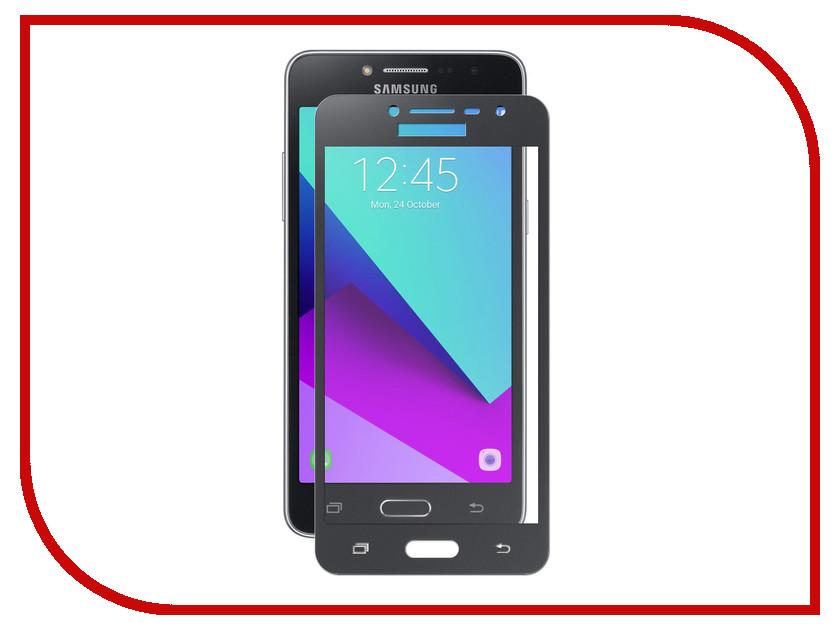 Аксессуар Защитное стекло для Samsung Galaxy J2 Prime SM-G532F Krutoff Full Screen Black 02556 защитные стекла rosco защитное стекло brosco для samsung j2 prime